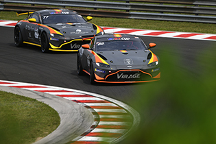 Hefler and Valenza start 2020 with GT Cup Open podiums !